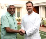 Kodandaram meets Rahul Gandhi