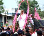 Siddipet (Telangana): T. Harish Rao campaigns ahead of 2019 Telangana assembly elections