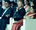 PM Modi,  Ivanka Trump, Sushma Swaraj, K T Rama Rao at GES 2017