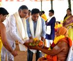 Siddipet (Telangana): K. Chandrasekhar Rao performs five-day long 'yagna