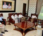 K.T. Rama Rao meets Y.S. Jaganmohan Reddy