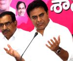 Telangana Minister Rama Rao's press conference