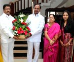 TSMDC chairman calls on Telangana CM