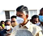 TDP protests against Andhra Govt over new sand policy