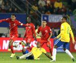 CHILE-TEMUCO-COPA AMERICA 2015-GROUP C-BRAZIL VS PERU