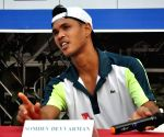 Somdev Devvarman's press conference
