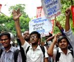 AIDSO protest against TMC students agitation at Calcutta University