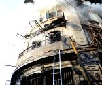 Major fire in Mumbai building
