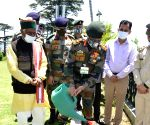 Free Photo:  The Army Chief calls on the Himachal Pradesh Governor in Shimla on Friday