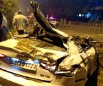 Three of family killed in Delhi road accident