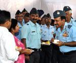 Arup Raha visits HQ Training Command