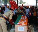 Inspector Mahendra Singh Bhatti's last rites performed in Amritsar