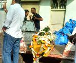 S H Raza passes away