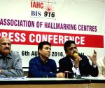 Indian Association of Hallmarking Centre - press conference