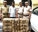 Illicit liquor seized in Gandhi Nagar