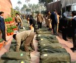 The documents of the Interim Budget 2014-15 brought in Parliament House premises under security