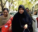 Nowhera Shaik produced in Hyderabad court