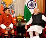 Thimpu (Bhutan): Bhutan's Leader of Opposition meets PM Modi