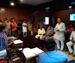 Shyampur Jatt residents meets Hapur SP