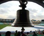 Giant bell installed at Eden Gardens