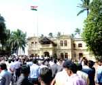 Ground breaking ceremony of Balasaheb Thackeray National Memorial