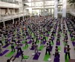 The Hague: Largest ever yoga event held in Netherlands