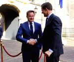 THE NETHERLANDS THE HAGUE RUTTE MEETING
