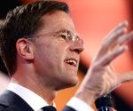 THE NETHERLANDS THE HAGUE PARLIAMENTARY ELECTIONS EXIT POLL VVD LEADING MARK RUTTE
