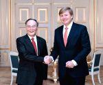 THE NETHERLANDS THE HAGUE CHINA WANG QISHAN DUTCH PM MEETING