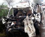 Five killed as car, truck collide in Haryana