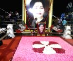 memorial of former Chief MIinister J Jayalalitha