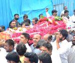 Former Minister Mukesh Goud's funeral