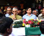 Martyr Major Akshay Girish Kumar's mortal remains