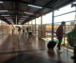 Empty New Delhi Railway station amid COVID-19 scare