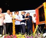 Gadkari, Parrikar inaugurate bridge in Goa
