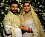 Ranveer, Deepika's wedding reception