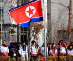 N. Korean team's entrance ceremony