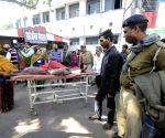 Arrah Dharamshala Explosion -  injured admitted to PMCH