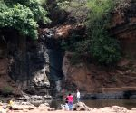 500-year old perennial waterfall that has dried up