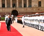 Ceremonial Reception for Palestinian President Mahmoud Abbas