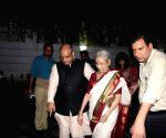 Relatives of Netaji Subhash Chandra Bose arrive to meet PM