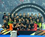 Runner-up Netherlands hockey team