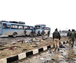 File Photos: 14 Feb Pulwama attack on CRPF personnel