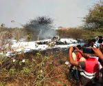 IAF aircraft crashes in Karnataka