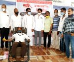Free Photo:  The Students Islamic Organisation (SIO) Maharashtra South organised a blood donation camp in the Takiya Masjid, Beed, on Ramzan-eve, and collected 150-units of blood.