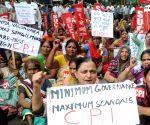 SUCI-CPI demonstration against Modi Govt