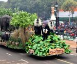 Republic day 2018 - Karnataka tableau during rehearsal