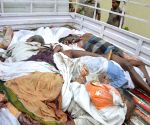 14 killed as truck ploughs into villagers in Andhra