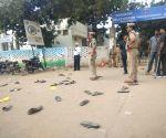 Protest demanding death for vet's gang-rape, murder accused