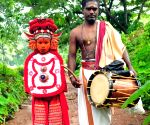 "Theyyam dancers embark on ""grama sancharam"
